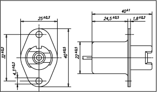 Spring Socket Dimensions