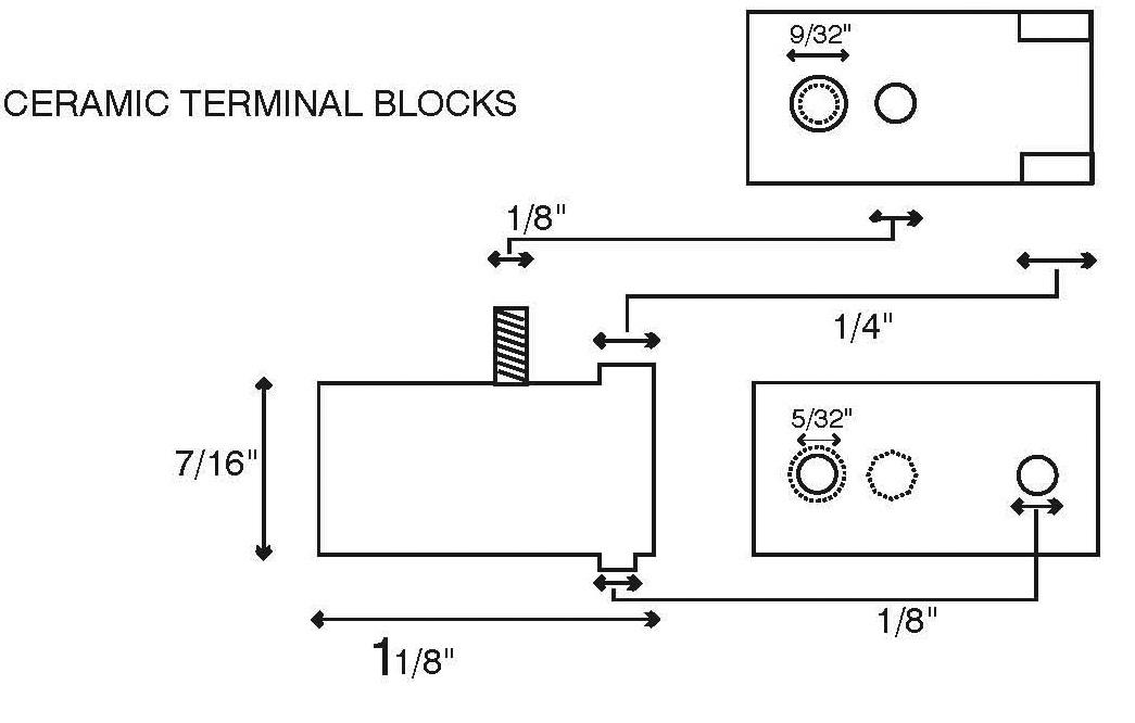 terminal block specs by Soneko USA